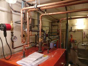 Käyttöveden kierto_lämpöpumpun liitäntä kattilaan