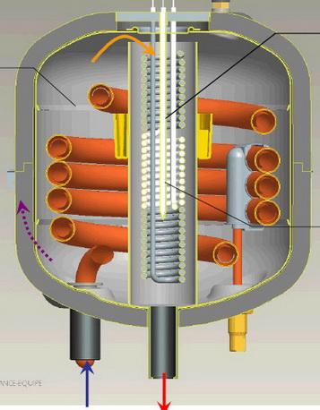 Patentoitu Atlantic lämmönvaihdin