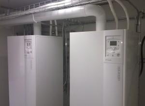 Hallin lämmitys ei tarvitse apuvastuksia eikä suurta sähköliittymää