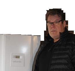 Matti Aalto, tyytyväinen lämmittäjä