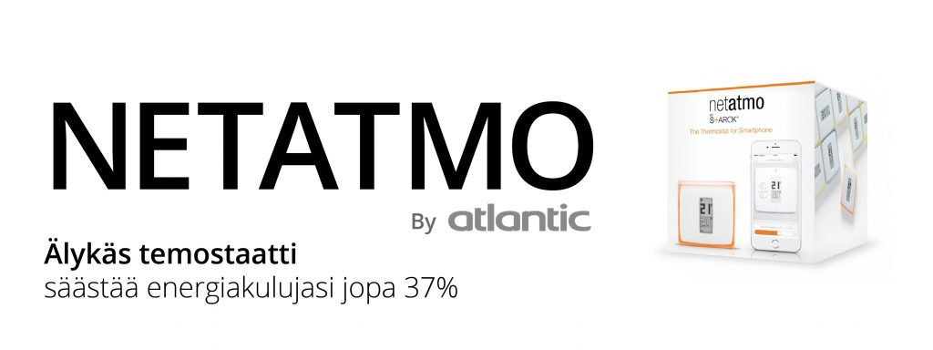 Netatmo termostaatti by Atlantic älytermostaatti