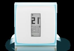 Netatmo Atlantic termostaatti, älytermostaatti, etäohjattava, 4 vaihdettavaa väriä