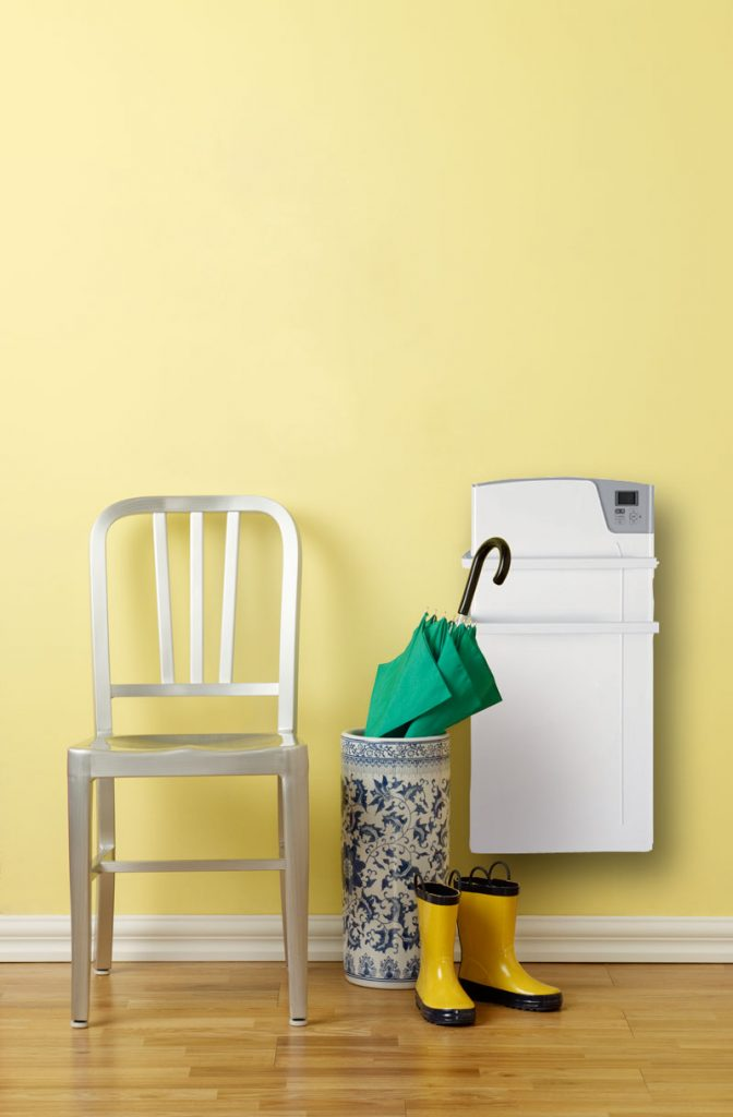Kylpyhuoneen sähköpatteri ja pyyhekuivain