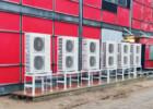 Lämmitystehoa vanhaan tehdaskiinteistöön Kaarinassa