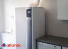 Vanha kaasukattila vaihtui energiatehokkaaseen Atlantic Effinox kaasukondenssikattilaan Vantaalla