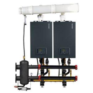 Kaasulämmitys rinnakkain kytkennällä - Varfree kaasukondenssikattila